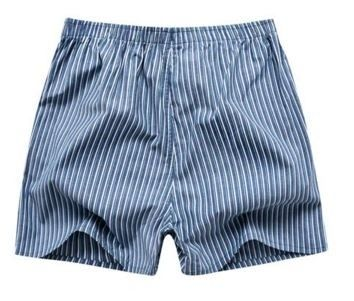 Mens Underwear Boxers Shorts Cueca Cotton Underpants Male High Quality  Brands Plaid Loose Comfortable Home Panties Plus Size