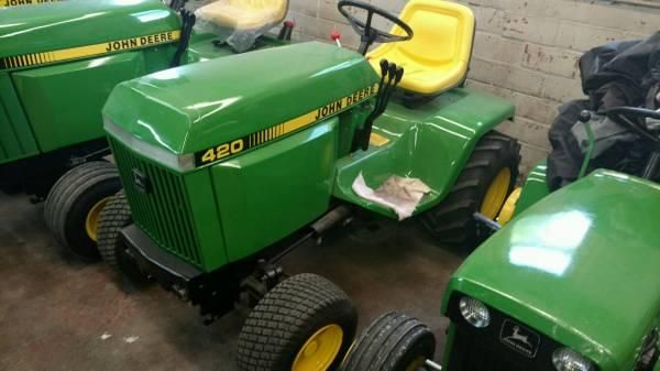 John deere 420 garden tractor - Yakaz