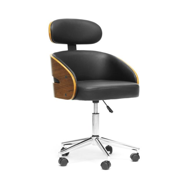 Droid Modern Swivel Office Chair Mid Century