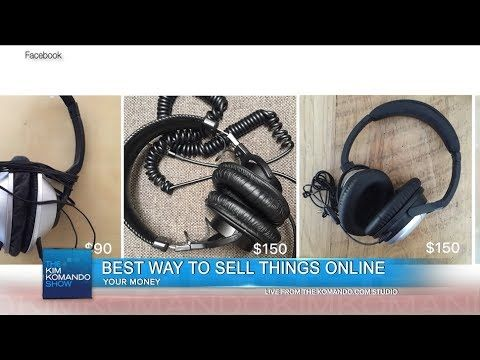 Watch Best way to sell things online and not use Craigslist @ Komando Video