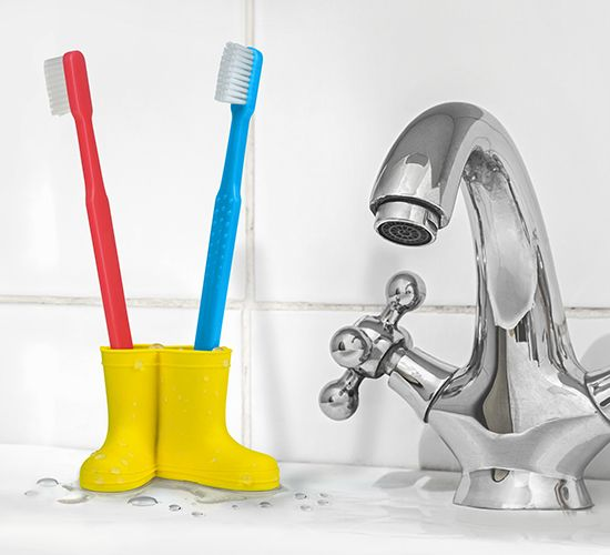 RAIN & SHINE - TOOTHBRUSH HOLDER