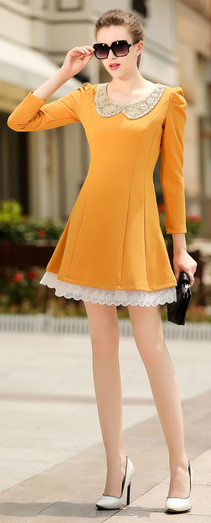 Really like this dress? Beautifully Modest Dresses for Teens | Beautiful modest outfit!! Discover the latest women fashion, celebrity, street style, outfit ideas you love on http://todesignlife.com/