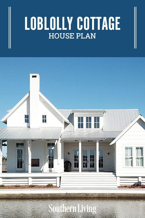 Loblolly Cottage In 2020 Southern Living House Plans House Plans Cottage House Plans