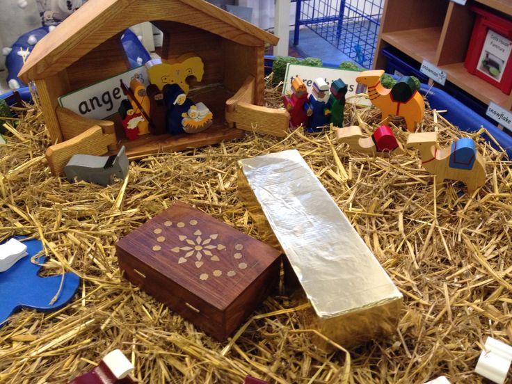 Small world - christmas nativity