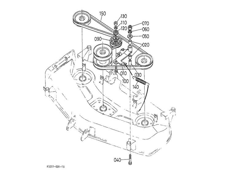 Kubota 48 Mower Deck Parts. Kubota. Wiring Diagram Images