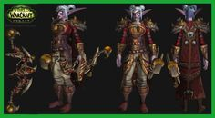 Night Elf Female Marksmanship Hunter Transmog Set