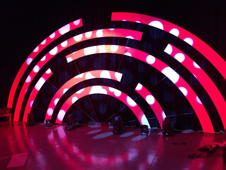 "Kris Kircher from Waters Edge Church in Yorktown, VA brings us this awesome rounded design. From Kris: We created this created this set back in November based on a design that Twin Cities Church had done. The whole set was made from 3/4"" sheets of insulation foam from Lowes and conduit. I started with creating a CAD drawing to work out how many sheets it would take to make the set. These photos are of our main campus, but it needed to also be replicated on our 3 other campuses as well. I..."