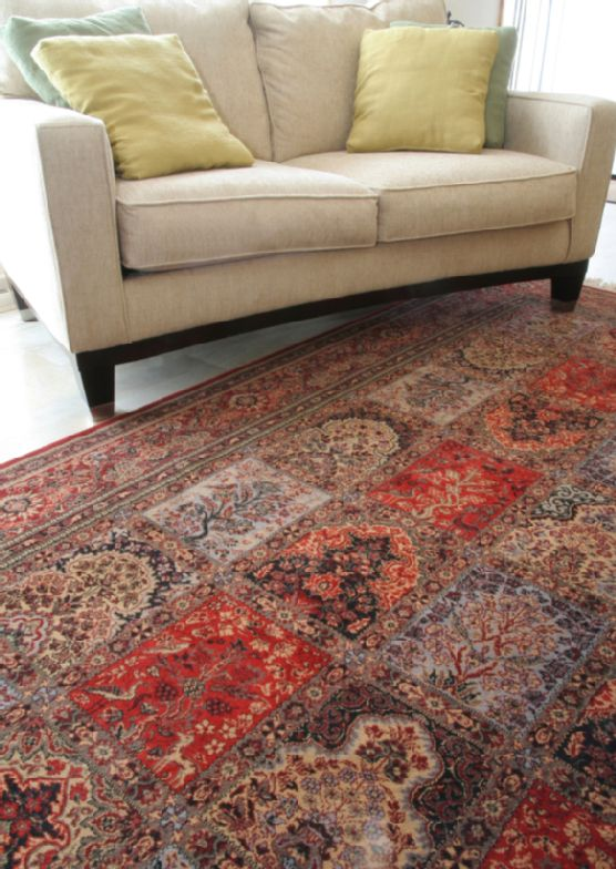 Why you should let the professionals handle your rug repairs.