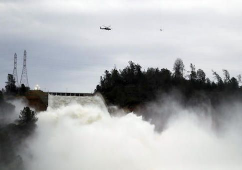 "The 2009 stimulus package funded millions of dollars for safety improvements for a dam in California that was in ""good shape,"" but not to the Oroville Dam that is now on the verge of a spillway cr"
