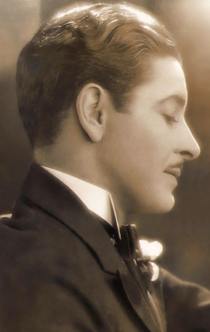 Ronald Colman - Silent Movie Star (1891-1958).....Added: In addition to his silent movie career, he also starred in many great 'talking' pictures from 1930s until the 1950s.