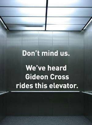 Gideon Cross…yes please!!!