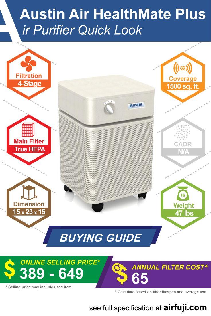 Austin Air HealthMate Plus Review Air purifier, Clean
