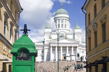 Helsinki Finland - What a great place (at least in the late summer).