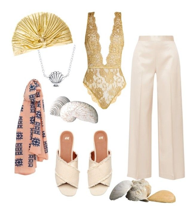 """""""Welcome to the Hamptons !"""" by florenzcollection on Polyvore featuring mode, The Row, Coco de Mer, Disney, chic, beach et Elegant"""