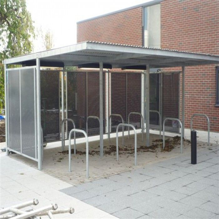 Cycle Shelter Type 3 | Larkin Street Products Manufacturers in Ireland and the UK