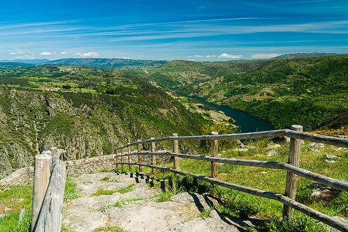 Balcones de Madrid. Ribeira Sacra. (Ourense). Galicia. Spain.