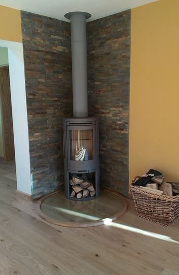 Contura 556 in Grey  #Woodburners #Stoves #Dorset http://www.contura.eu/English/Stoves/Wood-Burning-Stoves/Wood-Burning-Stove-556/
