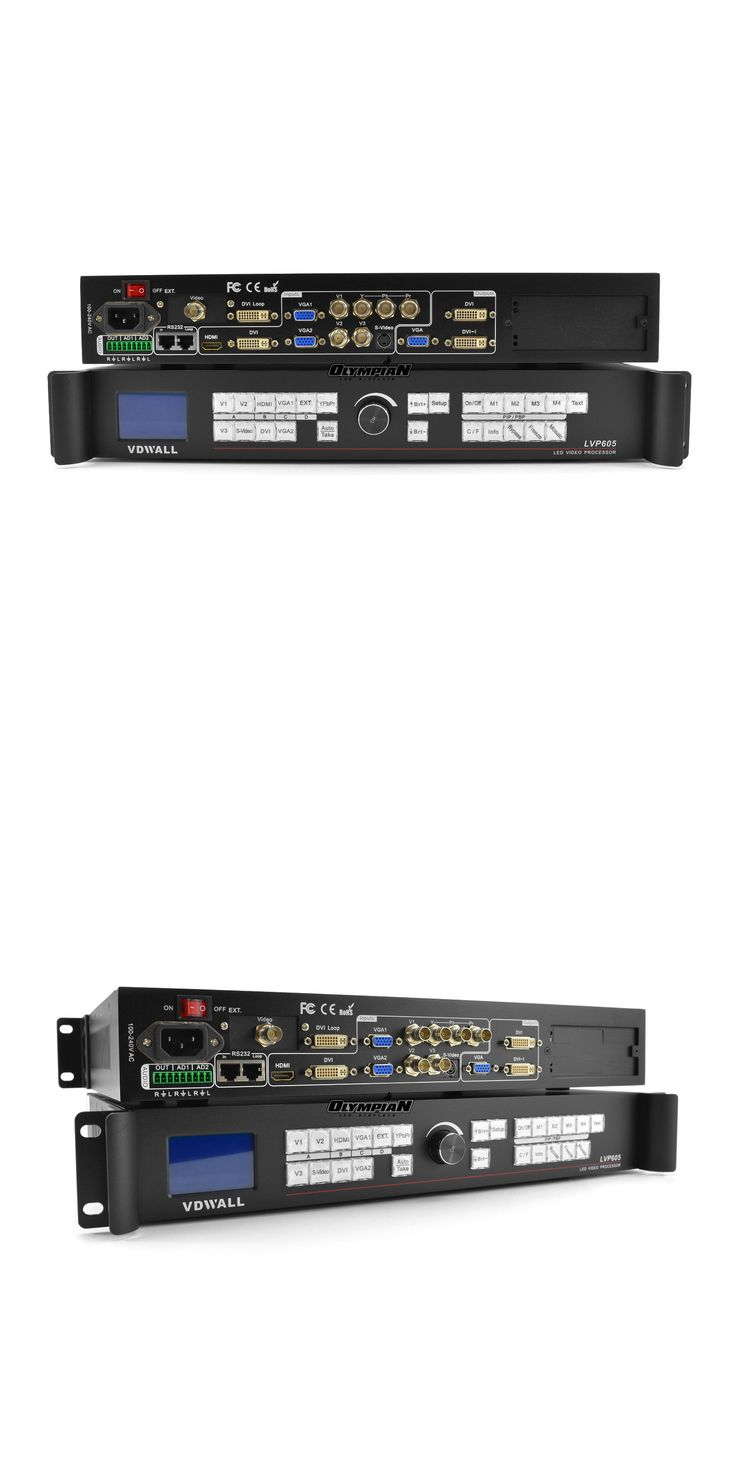 Other TV Video and Home Audio: Vdwall Lvp605 Led Video Processor For Led Video Wall BUY IT NOW ONLY: $758.0