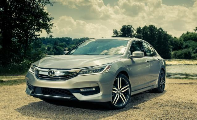 Sport and the Sport-Honda Sensing trims come equipped with a 16-V DOHC, In-Line 4 powertrain with the capacity of 2.4 liters...2017 Honda Accord Price... #2017HondaAccord #2017Accord #2017Honda #HondaAccord2017 #sedan
