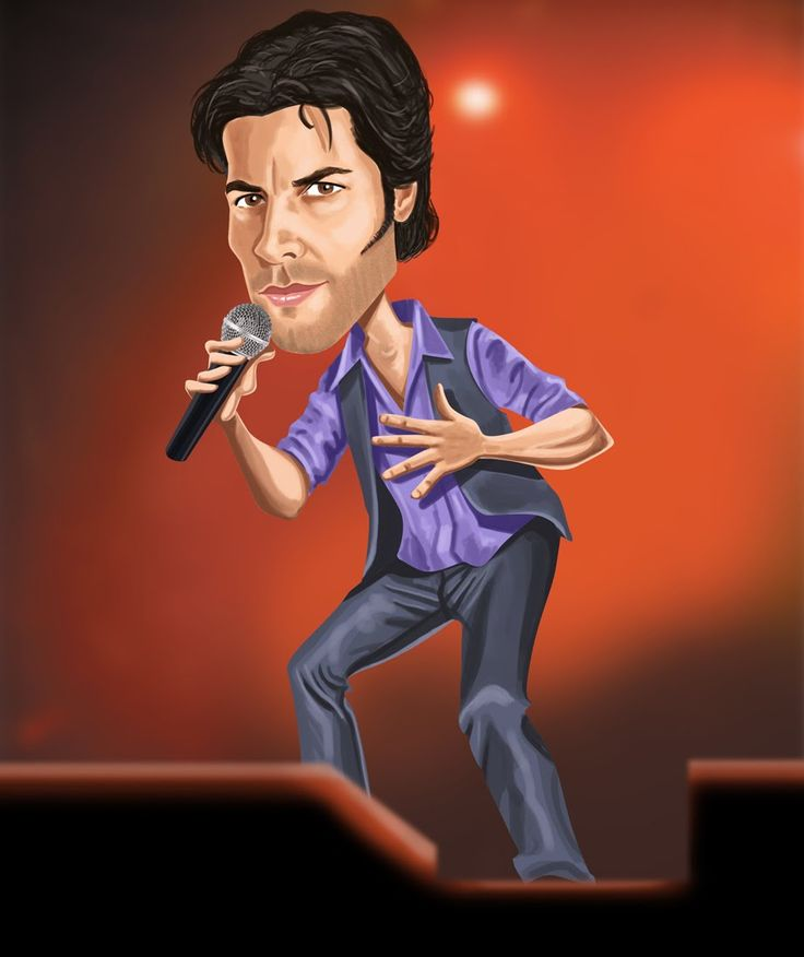 CHAYANNE by Caricaturas de Musicos/Cantantes - Taringa!