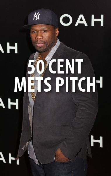 50 Cent came by to talk to Kelly & Michael about his new show, his new album, and his terrible pitch. http://www.recapo.com/live-with-kelly-ripa/live-with-kelly-interviews/curtis-50-cent-jaskson-mets-pitch-animal-ambition-power-review/