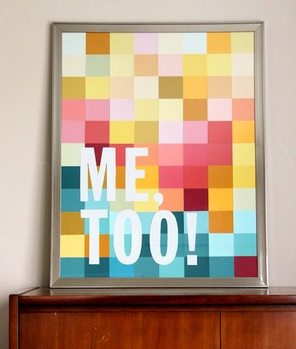 14 More Cool Paint Chip Craft Projects
