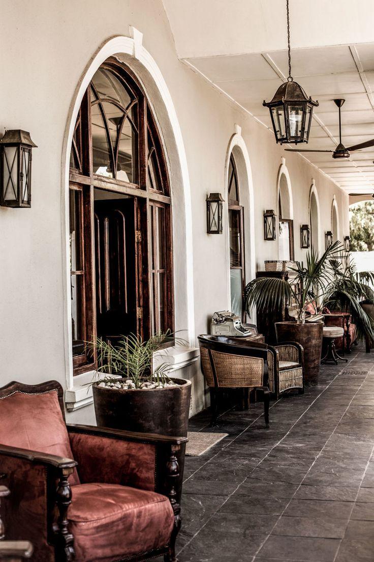 African Wine Country - THE VERANDA OF RIEBEEK KASTEEL'S ROYAL HOTEL, South Africa