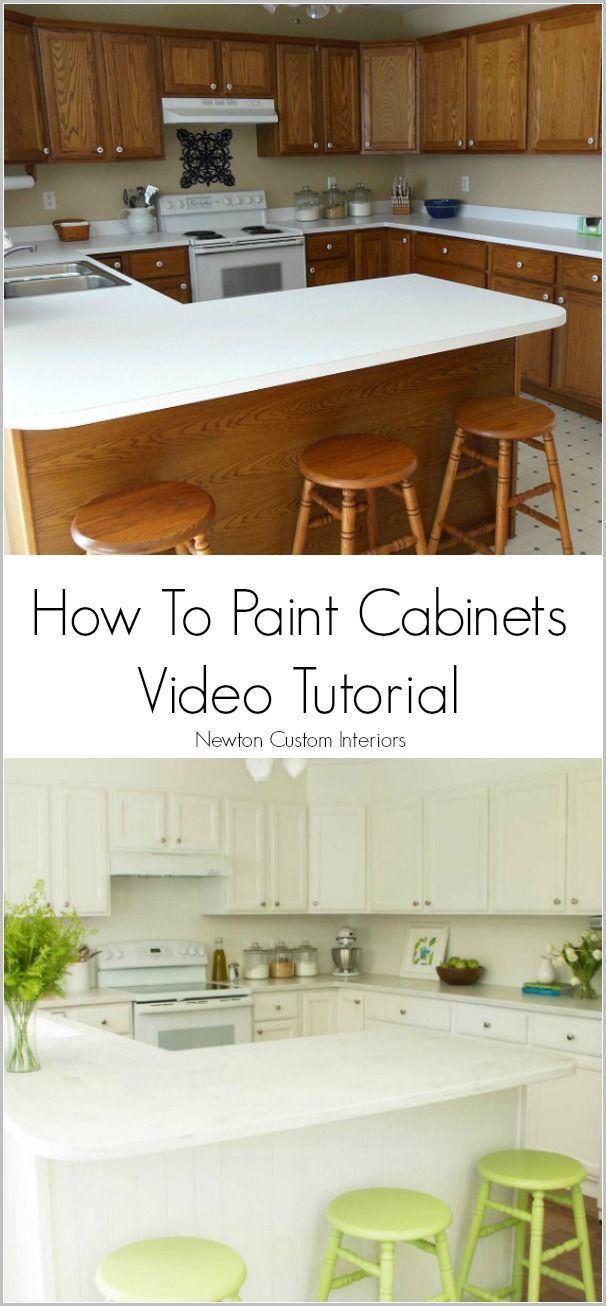 how to paint cabinets home improvement pinterest painting rh pinterest com