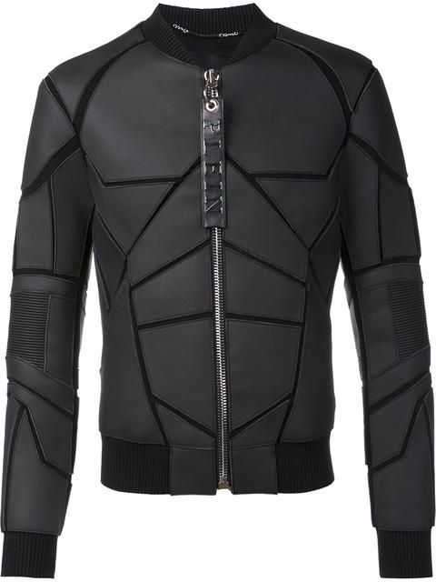 PHILIPP PLEIN 'Batman' Bomber Jacket. #philippplein #cloth #jacket