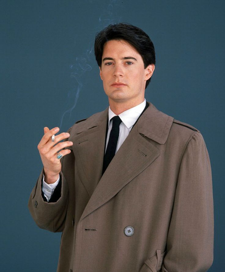 "Kyle MacLachlan as 'Special Agent Dale Cooper' in Twin Peaks (1990-91, CBS)    ""Get the picture?"" ""Even got the frame."""