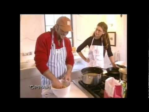 Tim and Faith on Oprah cooking chicken and dumplings - adorable and funny video