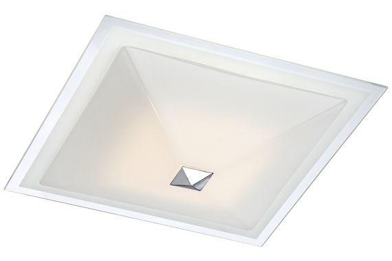 Possini Euro Drydena Led Chrome 14 Inch W Ceiling Light