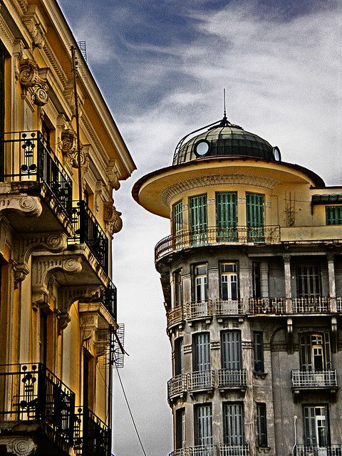 Greece, The historic center of Thessaloniki