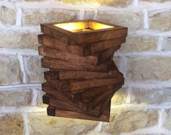 Hand Crafted Table Lamp Modern Spiral by Uniquelightingco on Etsy