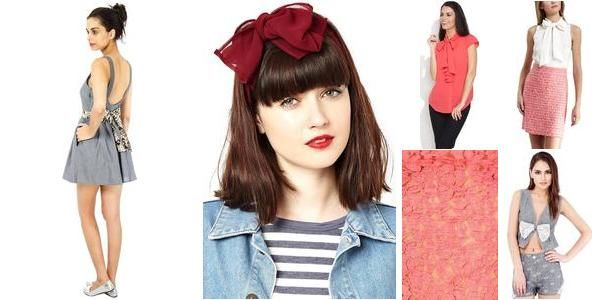 """""""Bow Chicka Wow Wow ^.^"""" Awesome list on #tops #belles by Swati Pathak #fashion"""