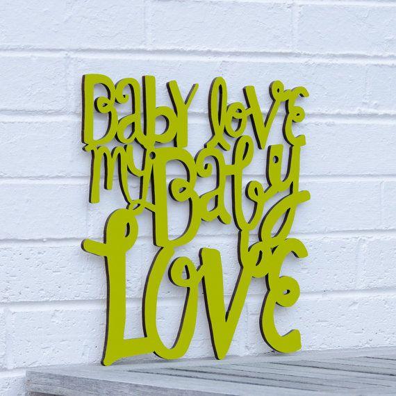 Baby Love my Baby Love Supremes Diana Ross nursery by spunkyfluff
