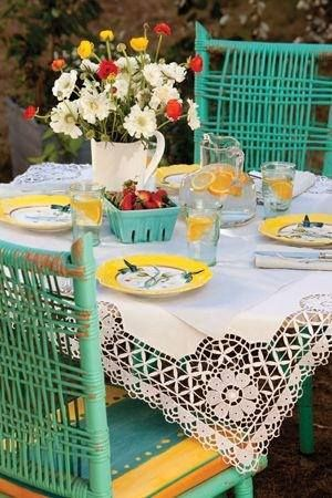 More lovely outside Dining on cozy patios.