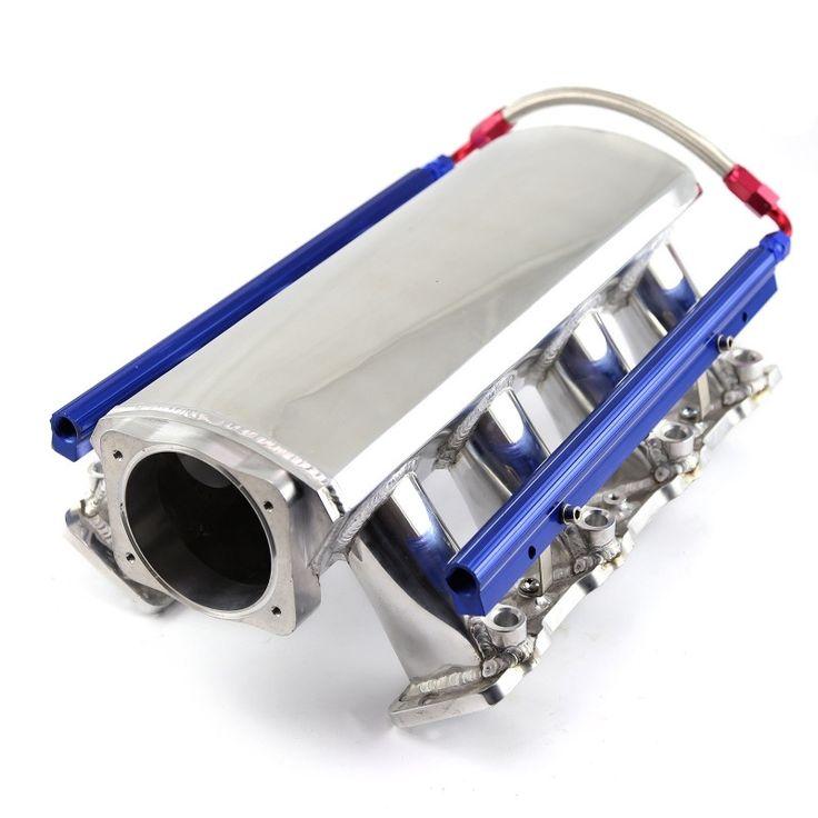 Chevy ls3 60l 62l fab aluminum ram air efi intake