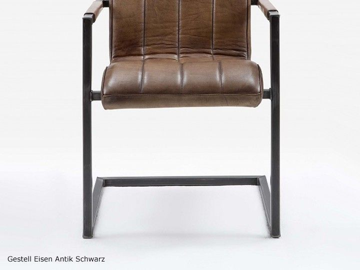 die besten 25 schwingstuhl leder ideen auf pinterest b rostuhl ohne armlehne freischwinger. Black Bedroom Furniture Sets. Home Design Ideas
