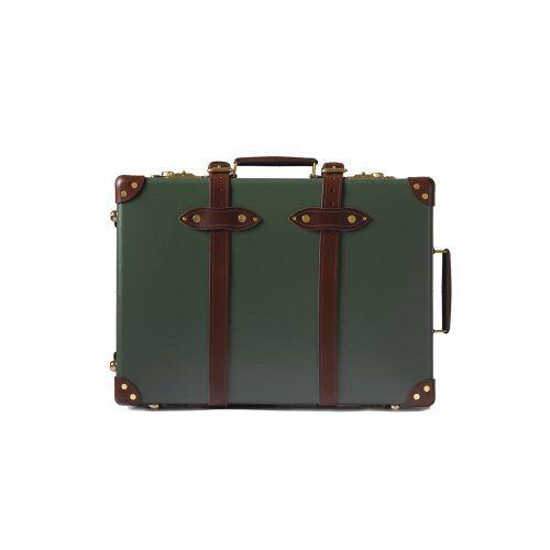 "<b>Centenary</b> 26"" Trolley Case - Green   Globe-Trotter Luxury Luggage ..."