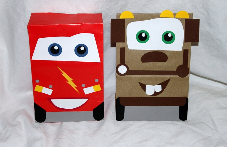 Cars  Party Bags
