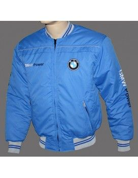BMW Blue Jacket with embroidered logos  http://autofanstore.com
