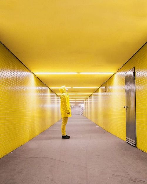 Yellow is the new black! Conceptual photography shot in one of the subway stations of the line 7 in Berlin. Shot with the #NikonD3400 that is the perfect entry-level DSLR when you are on the go and still want to take high quality images. via Nikon on Instagram - #photographer #photography #photo #instapic #instagram #photofreak #photolover #nikon #canon #leica #hasselblad #polaroid #shutterbug #camera #dslr #visualarts #inspiration #artistic #creative #creativity