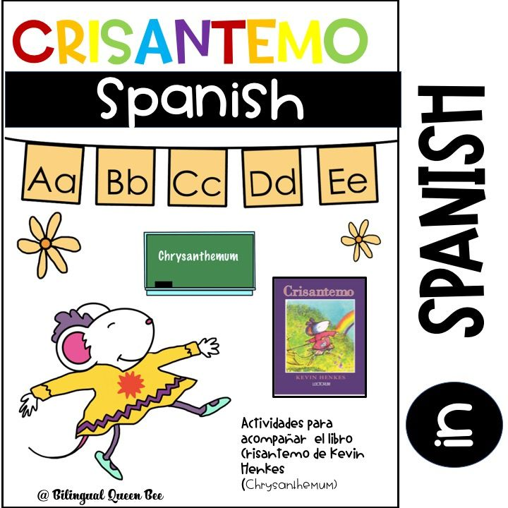 Crisantemo | My TPT Products | Pinterest