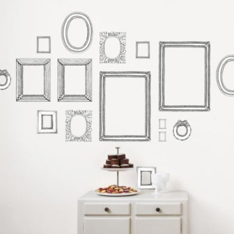 Picture Frame Wall Decals 16 best frame stickers images on pinterest | wall decals, wall