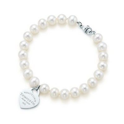 Tiffany And Co Bracelet Bracelet Return To Pearl White 191