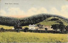 Old Postcard Of West Down, Chinnor,Oxfordshire
