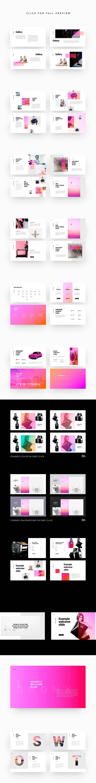 BRONX Keynote Template + Bonus #presentation #keynote #template #simpledesign #marketing