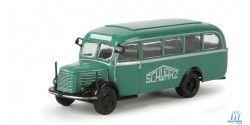 1954 Steyr 380/I Bus - Assembled - Starline -- Schwarzbau (green, white)