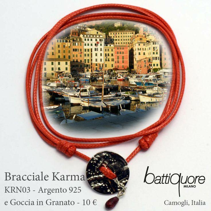 #Cartoline Battiquore per i nuovi Bracciali Karma #newcolor #primavera #estate #rosso http://www.battiquore.it/shop/it/karma/65-krn03.html